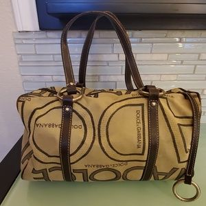 Vintage Dolce and Gabbana Boston bag